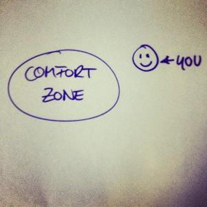 Raus aus der Comfort Zone