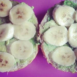 Banane Avocado Sandwich