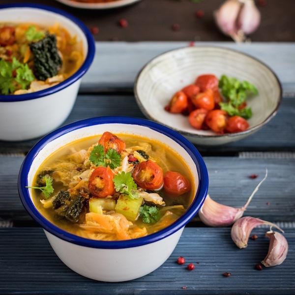 Ein Rezept für eine ayurvedische Detox Suppe