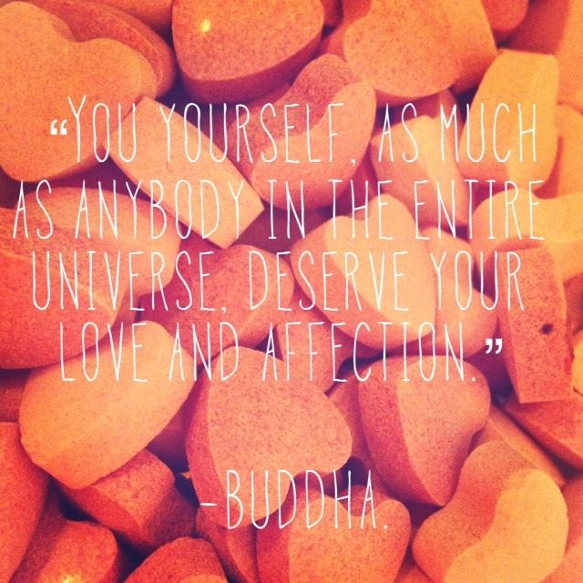 Ein Zitat von Buddha zur Selbstliebe