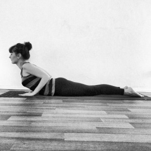 Bhujangasana - eine typische Yogapose