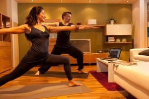 Einfach Yoga zu Hause machen