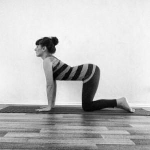 Yoga Pose Cakravakasana