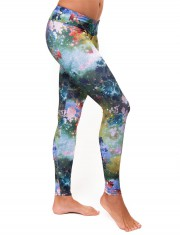long leggings galaxy