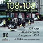 Warum 108 Yogis am 10.8. 108 Sonnengrüße machen
