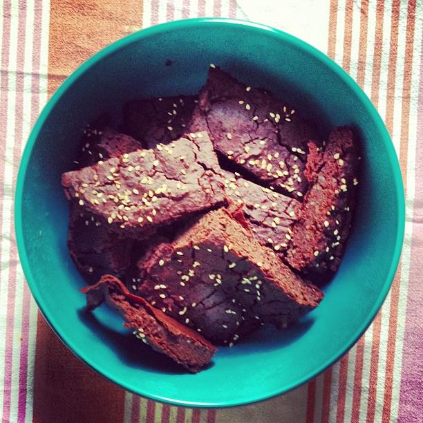Glutenfreier Brownie aus Bohnen