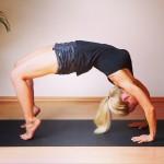 Yoga Übung Rückbeuge