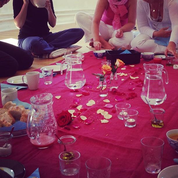 Mittagessen beim Workshop