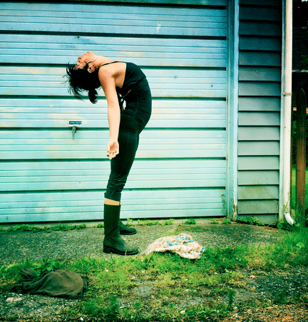 Yogalehrerin Meghan Currie