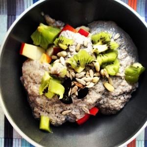 Glutenfreier Brei zum Frühstück