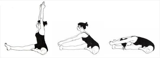 Kopf-Knie-Übung