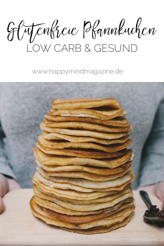 Pfannkuchen low carb ohne Kohlenhydrate
