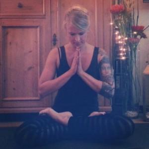 Der Lotussitz - eine Yogaübung