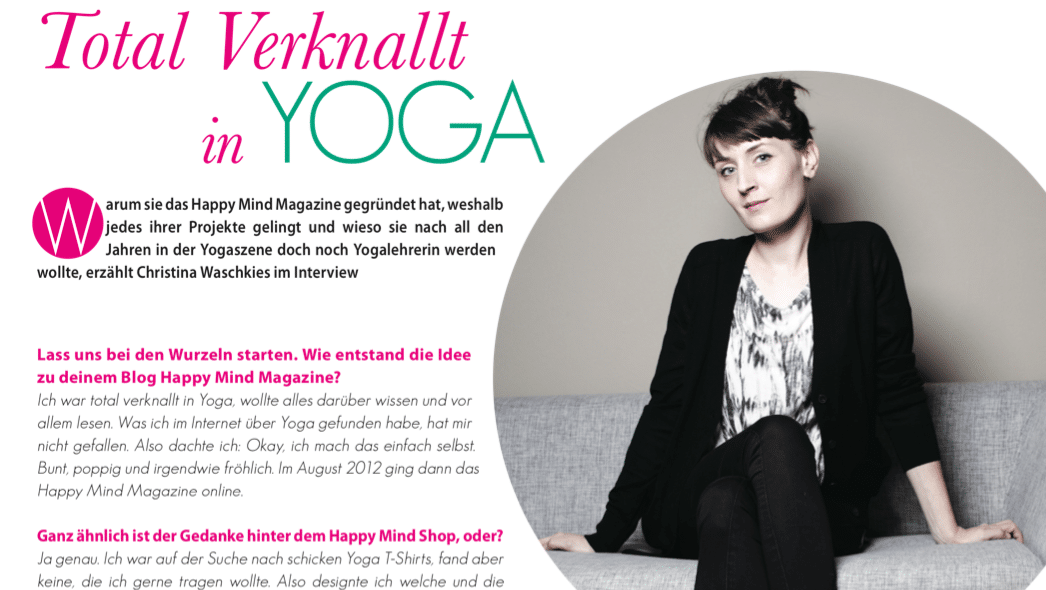 Interview Yoga Deutschland