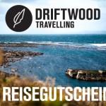 Verlosung: 5 x 100€ Reisegutschein für Driftwood Travelling