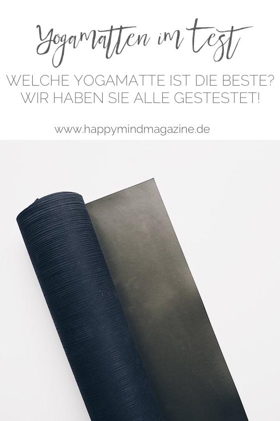 Die besten Yogamatten im Test: Welche Yogamatte ist die Beste?