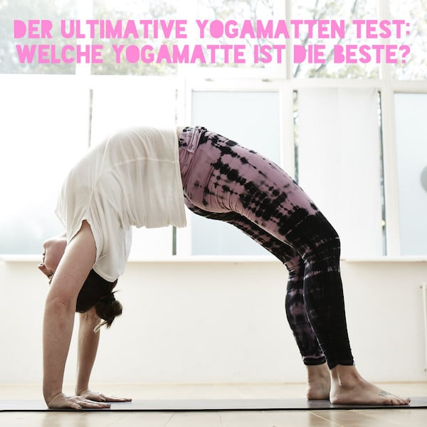 der ultimative yogamatten test welche yogamatte ist die beste. Black Bedroom Furniture Sets. Home Design Ideas
