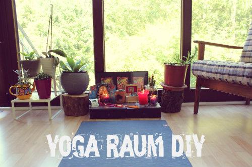 Wie richte ich einen Yogaraum ein?