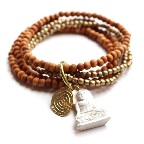 Armband mit Buddha