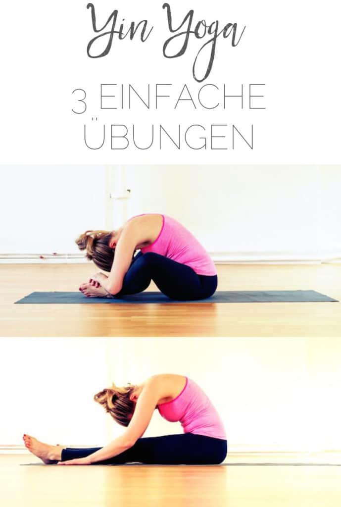 3 einfache Übungen für Yin Yoga Anfänger #yinyoga #anfänger