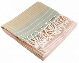 Hamamtuch nude Bio-Baumwolle