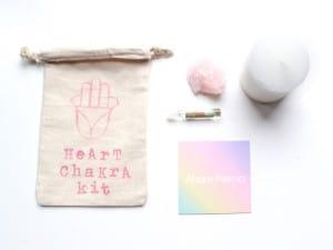 Das Herz Chakra Kit