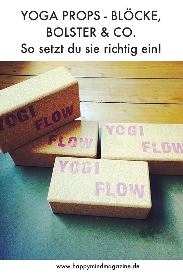 Yoga Hilfsmittel richtig einsetzen