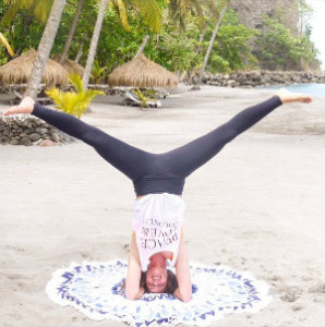 ella yoga beach