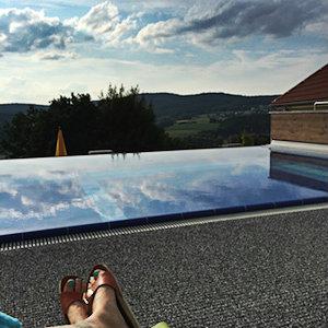 Pool Dachterrasse