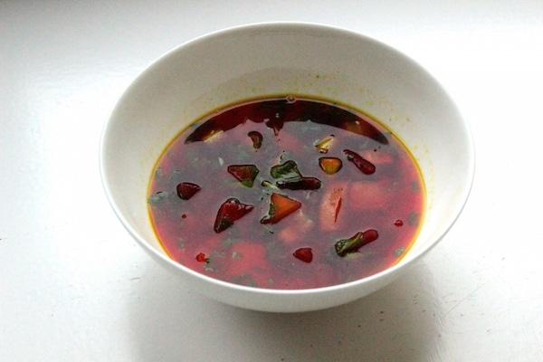 Ayurvedische Rote Bete Suppe