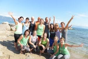 Das entzückende YogaEasy.de Team