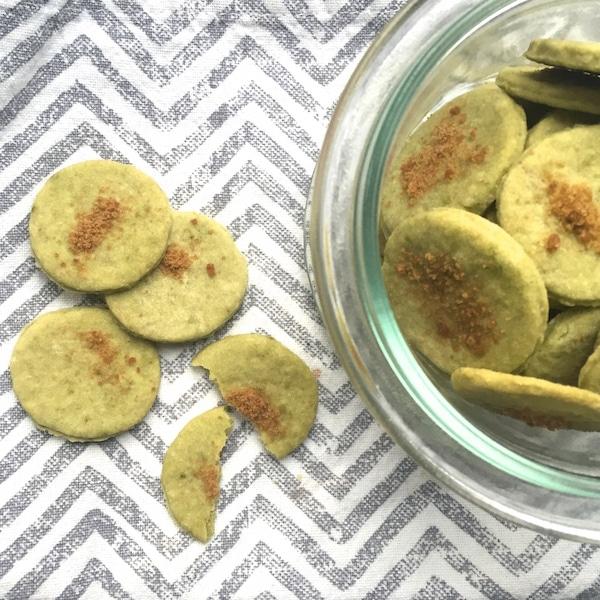 Kekse mit Matcha