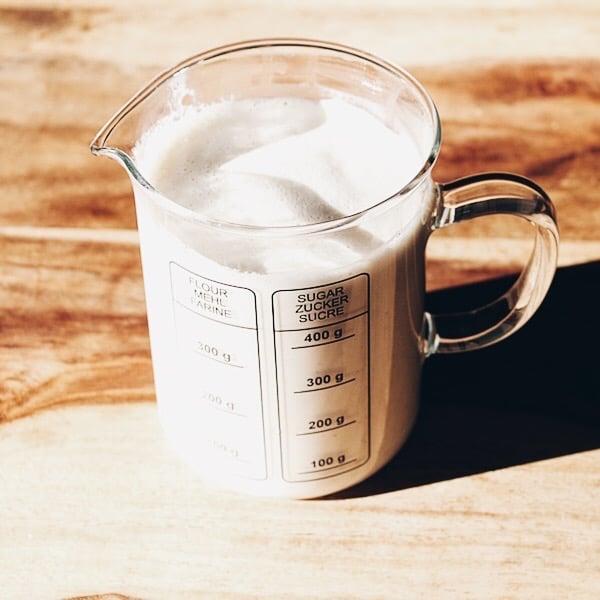 Rezept: Cashewmilch selber machen (vegan)