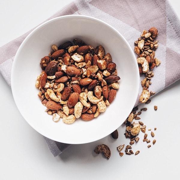 Rezept: selbstgemachte Tamari Nussmischung zum Snacken (vegan)
