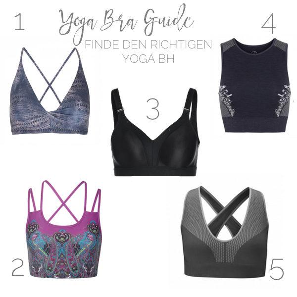 Du möchtest endlich einen gut sitzenden Yoga BH finden? Unser Guide hilft dir weiter!