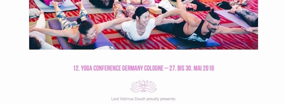 Fahre mit Lieken zur Yoga Conference 2016