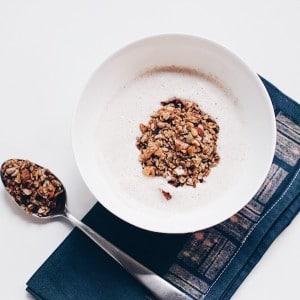 Granola mit Chai Tee gewürzt