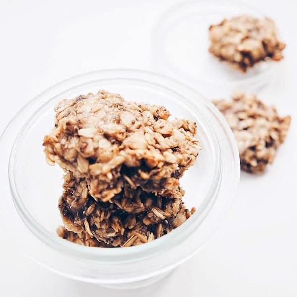 rezept hafer bananen cookies vegan ohne zucker und. Black Bedroom Furniture Sets. Home Design Ideas