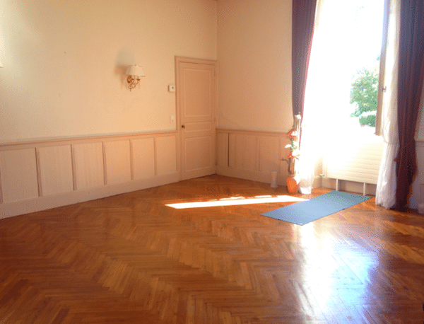 Der Yogaraum im Jolly Chateau