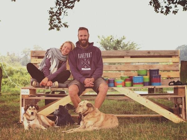 Alexandra und ihr Mann Damien - die beiden heiraten Ende November!