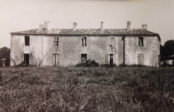 Das Chateau im Jahr 1962