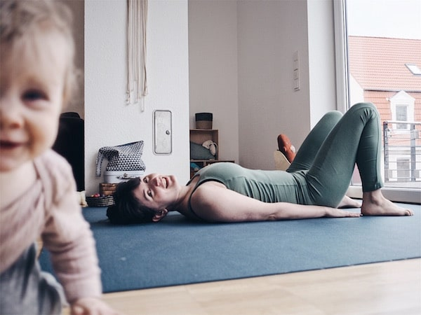 Yoga mit Baby