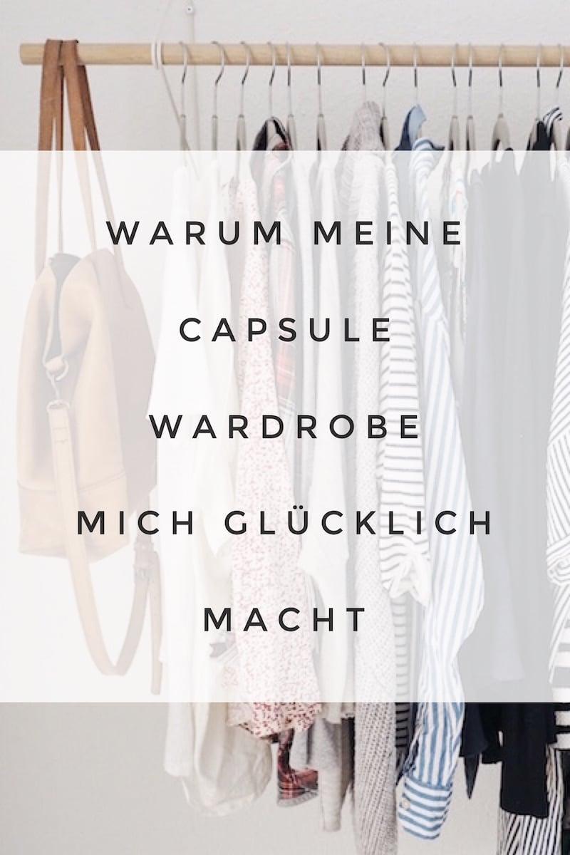 Wieso mich meine Capsule Wardrobe mit nur 35 Kleidungsstücken so glücklich macht