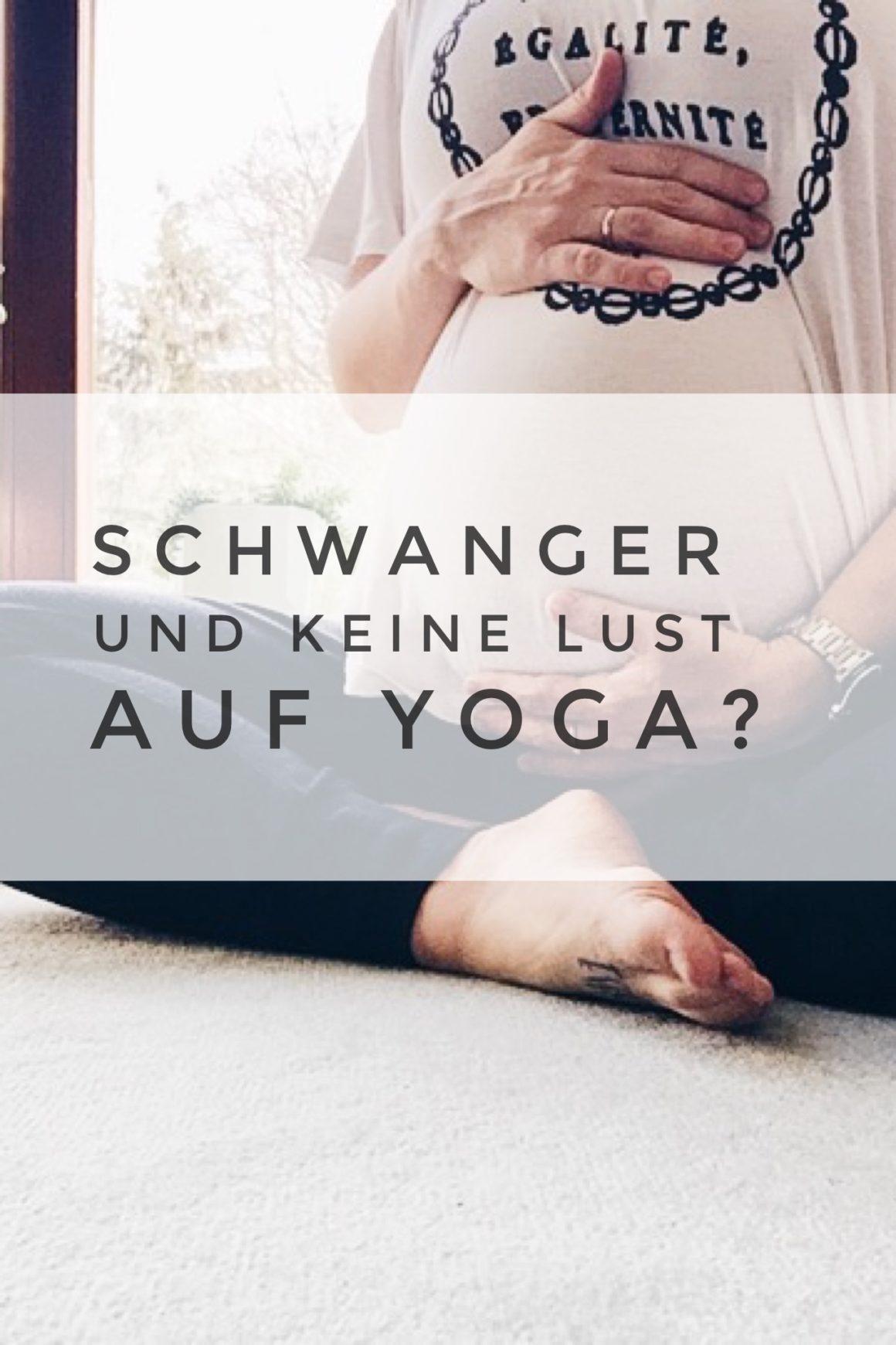 Schwanger und keine Lust auf Yoga? Voll okay!