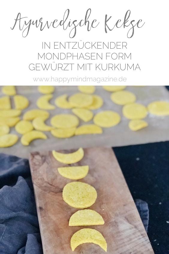 Gesunde ayurvedische Kekse mit Kurkuma und Birkenzucker - lecker!