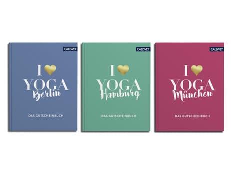 Die Gutscheinbücher I love Yoga von Birgit Feliz Carrasco