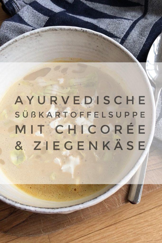 Ayurvedische Suppe mit Süßkartoffel - in 10 Minuten fertig!