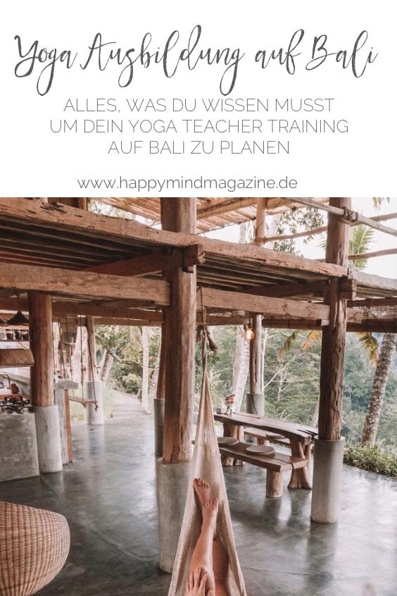 Yoga Ausbildung auf Bali: Alles, was du wissen musst, um dein Yoga Teacher Training auf Bali zu planen