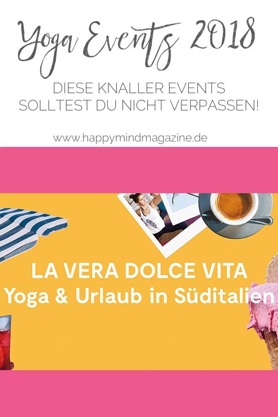 Yoga Events 2018 - diese Knaller Events solltest du nicht verpassen!