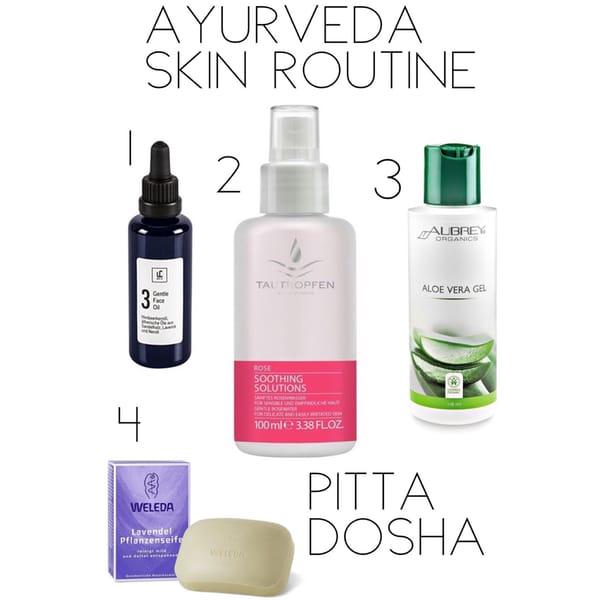 Ayurveda Hautpflege: Meine Beauty Routine für Pitta Dosha